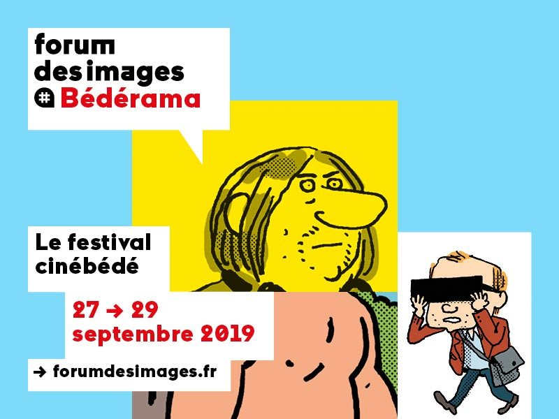 Le Forum des images lance la première édition de son festival Bédérama