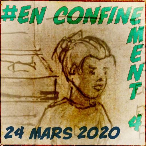 Le confinement du mardi 24 mars 2020 par yoyo